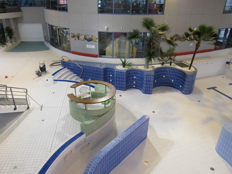 Fermeture de l'Aquaspace pour travaux du 27 août au 7 octobre 2018
