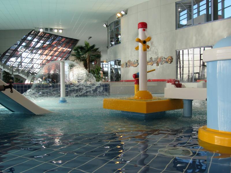 Une nouvelle pataugeoire est à découvrir à l'Aquaspace